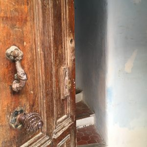 Peep through the doorway