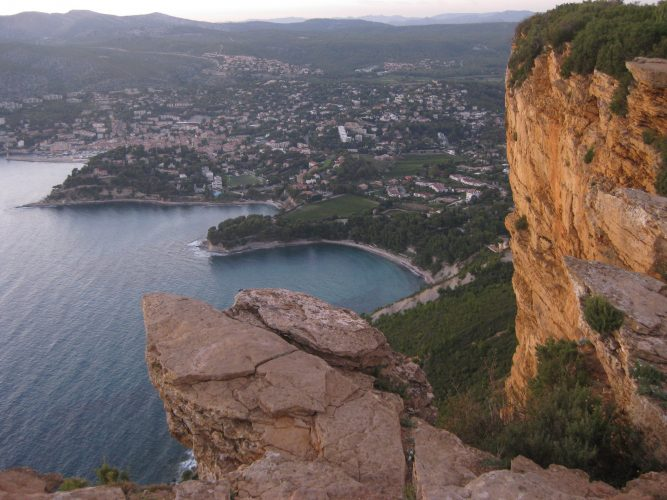 Cassis seen from Cap Canaille