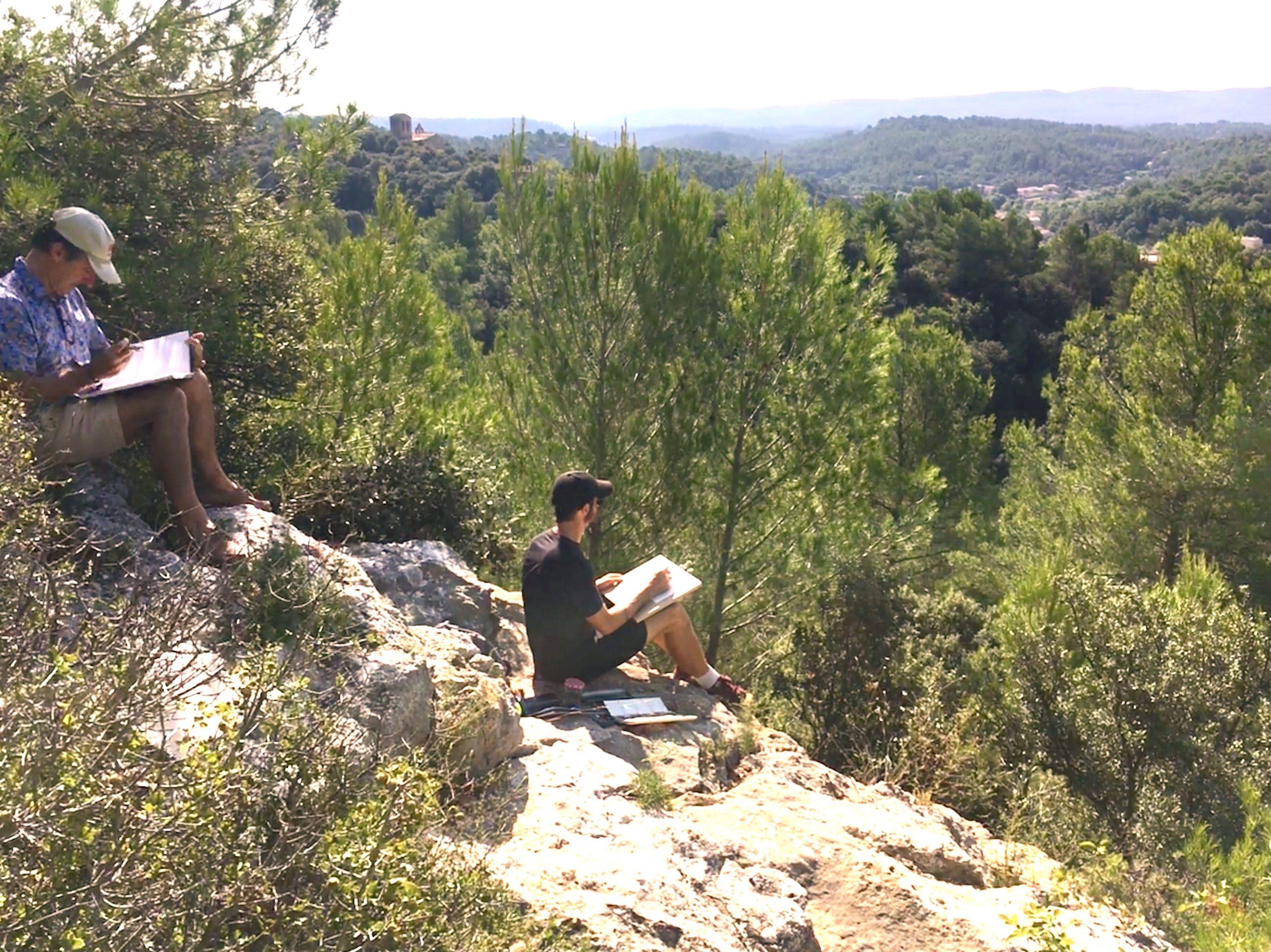 art workshop en-pein-air in provence